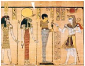 Memphis Triad: Ptah-Sekmet-Nefertum
