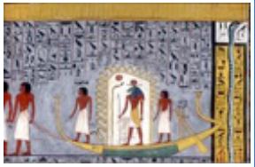 Solar Barque of Ramses 1