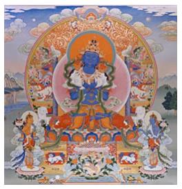 The Adi Buddha-Vajradhara or Vajrasattva